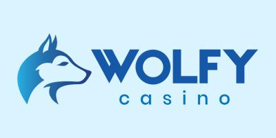Shows Logo of Wolfy Casino
